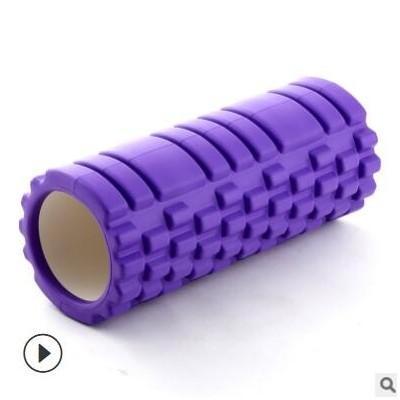 狼牙棒空心瑜伽柱EVA深度按摩棒肌肉放松滚筒瑜珈棒泡沫滚轴厂家
