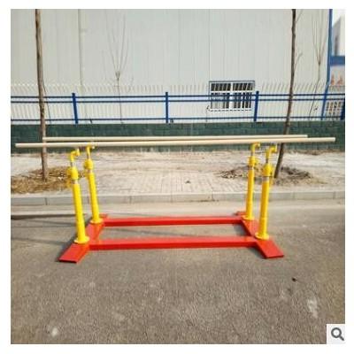 移动式双杠部队训练双杠室外小区铸铁双杠家用体操定制双杠器材