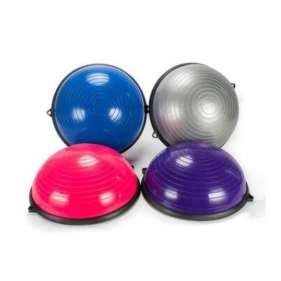 波速球半圆平衡球加厚瑜伽健身普拉提训练半球印刷