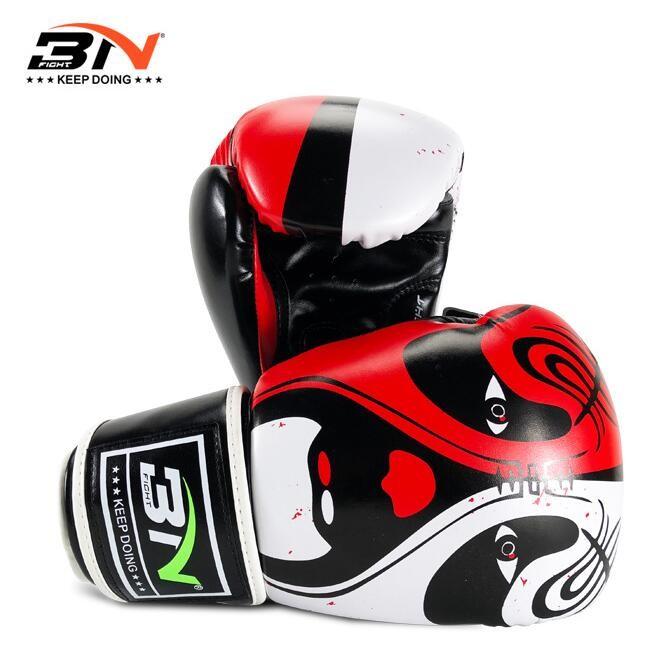 BN拳击手套国萃系列中国风拳套泰拳散打拳套成人男女拳击手套