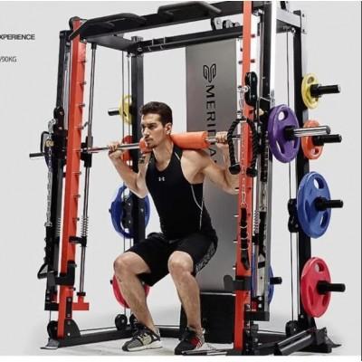 史密斯机大飞鸟龙门架健身器材家用套装组合深蹲架运动综合训练器