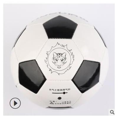 小学生训练足球 PVC5号足球定做 黑白块耐磨足球批发